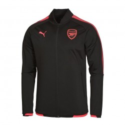 Arsenal Black Jacket 17-18