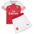 Arsenal Home Kids Jersey 18-19 plus Short BF