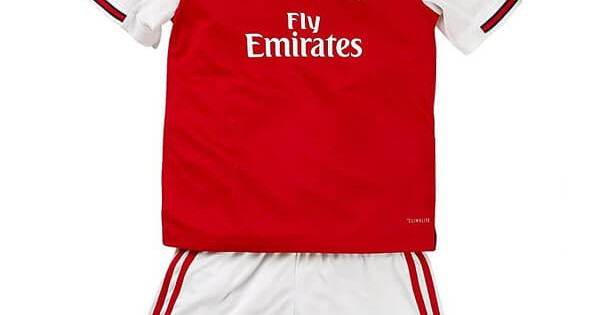 timeless design 7d147 88770 Arsenal Home Kids Jersey 19-20