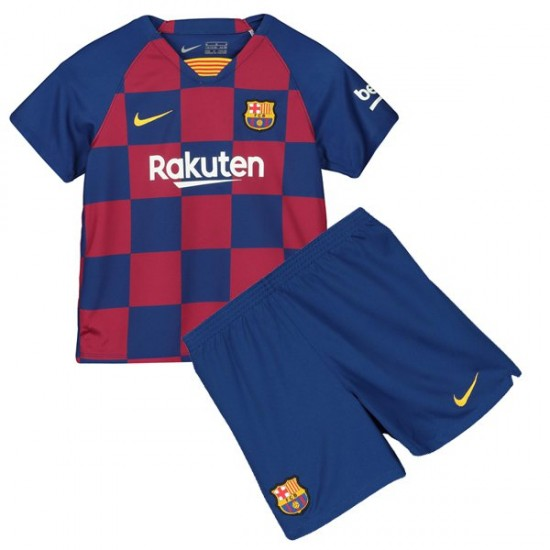 best authentic 48a4c 8eb4d Barcelona Home Kids Jersey 19-20