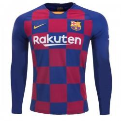 Barcelona Home Longsleeve Jersey 19-20