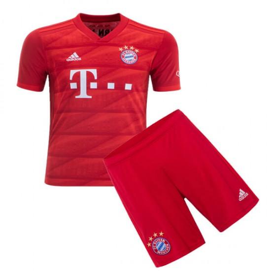 low priced 1b533 bc140 Bayern Munich Home Kids Jersey 19-20