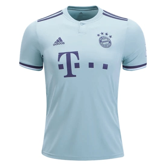 reputable site 51b65 4ccec Bayern Munich Away Jersey 18-19
