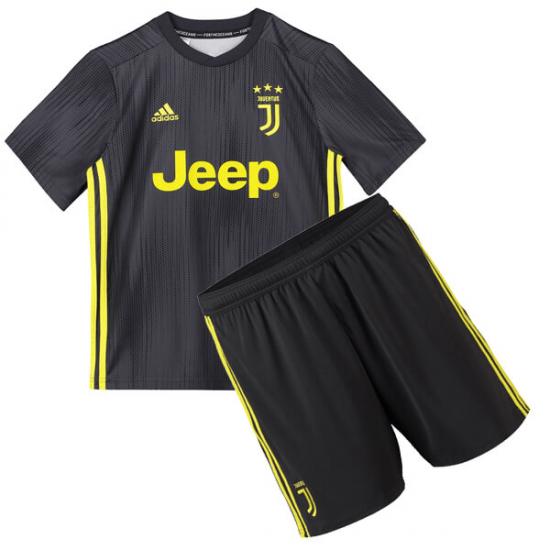 half off 8f9ca 07094 Juventus 3rd Kids Jersey 18-19 plus Short