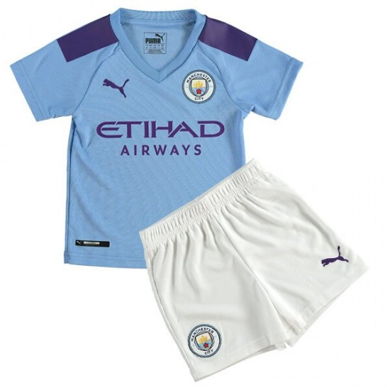 Manchester City home Kids Jersey 19-20