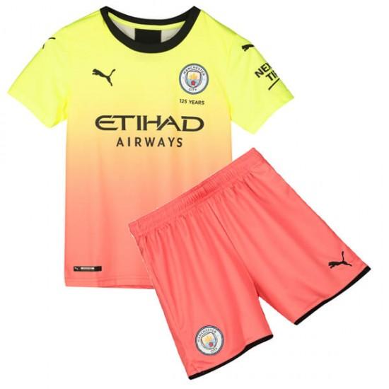 Manchester City 3rd Kids Jersey 19-20