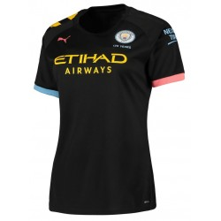 Manchester City away Ladies Jersey 19-20 BF