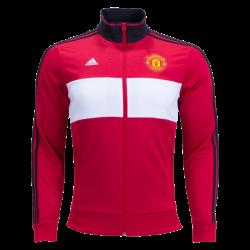 Manchester United 3 Stripe Track Jacket 17/18