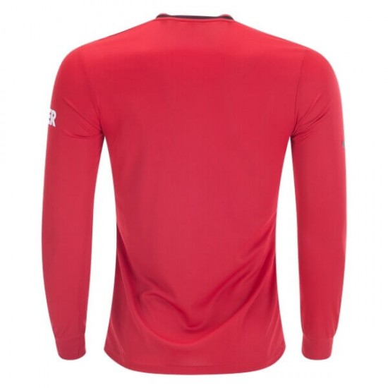 Manchester United Home Longsleeve Jersey 19-20