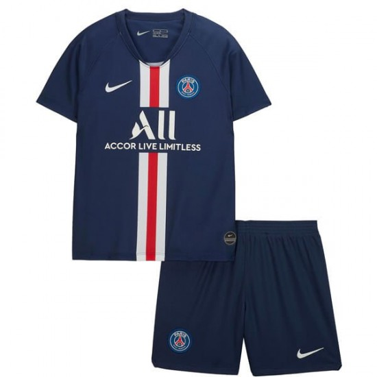 official photos 7cd9a ee64c PSG Home Kids Jersey 19-20