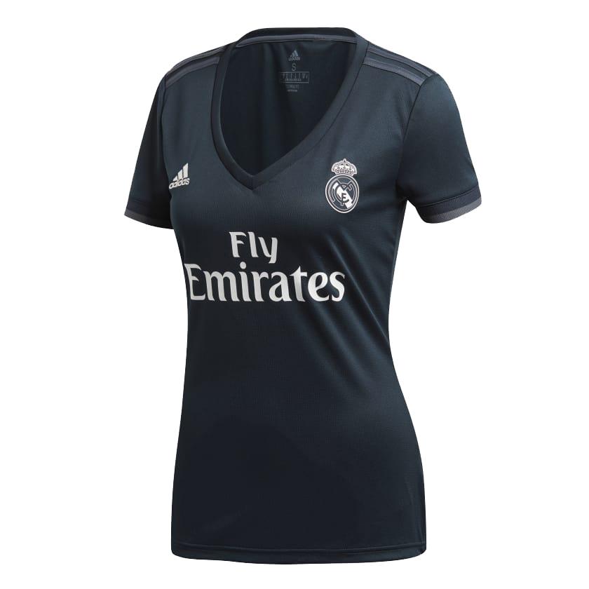 reputable site 4402c 6f8bb Real Madrid Away Ladies 18-19