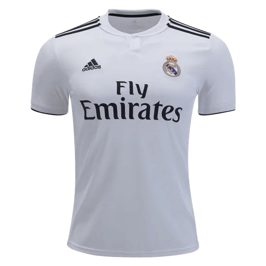 best loved 574ac 3cd94 Real Madrid Home Jersey 18-19